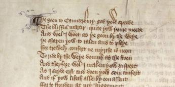 Anche l'originale è conservato nella biblioteca. Nel particolare si possono leggere i versi di nota 17.